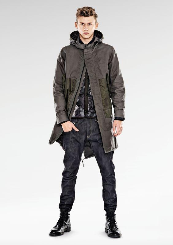 Lookbook: G-Star RAW Pre AW14 | IBEYOSTUDIO #GStarRAW #Lookbook #Denim #Fashion #Look #Men #Style