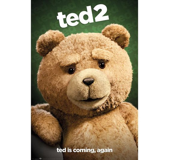 Ted 2 Poster Ted is coming, again. Hier bei www.closeup.de