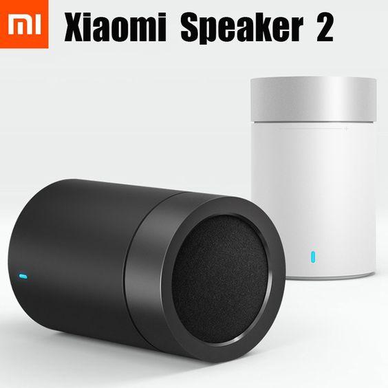 Original xiaomi Bluetooth speaker 2, TYMPHANY speaker 1200mah battery xiaomi bluetooth speaker 2ND PC + ABS material BT 4.1