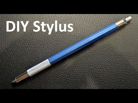 How To Make Homemade Stylus Touch Pen For Your Tablet Or Your