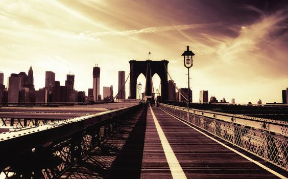 The brooklyn bridge owns my heart.