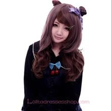 Lolita Brown Curly Maid Cute Cosplay Wig