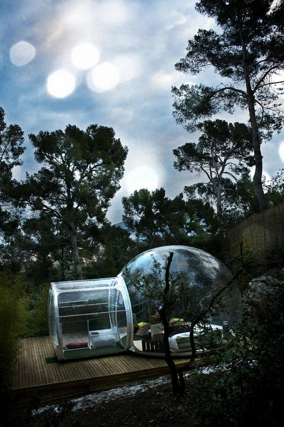 Innovative Transparent Bubble Tents