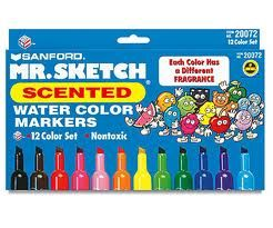 Mr. Sketch. the best scented markers!