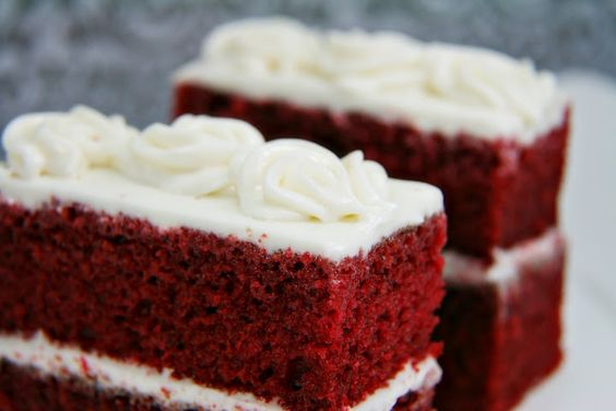 Red Velvet Cakelettes with Cream Cheese Frosting
