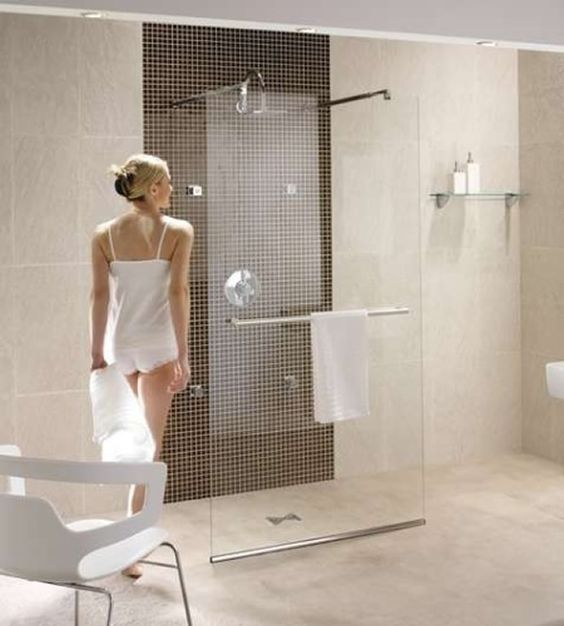 Walk In Shower Designs Home And Frameless Shower On Pinterest