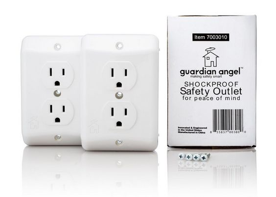 Babyproofing: The Guardian Angel Outlet is the smartest and safest we've seen: