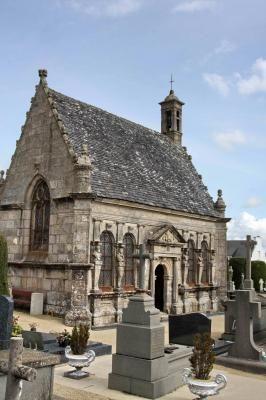 Chapelle Ste Anne à Landivisiau . Finistère. Bretagne