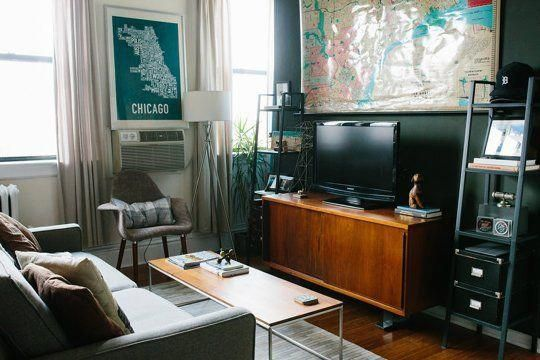 Nice Little Apartment Jack S Small Stylish Space In Chicago