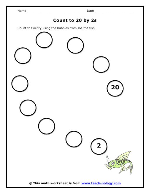 Number Names Worksheets skip counting by tens worksheets : Math, Count and Worksheets on Pinterest