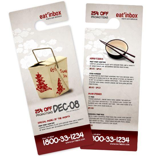 BoxedArt \/ Member Downloads \/ Door Hanger Templates \/ Construction - restaurant door hanger template