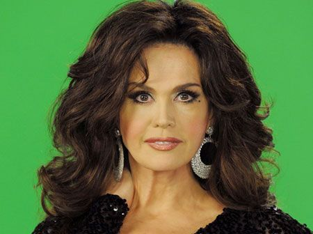 Marie Osmond Singer And Female Half Of The Donny And Marie Duo Hair Love And