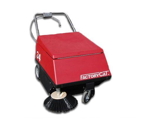 Factory Cat 34 Sweeper Used Industrial Floor Sweeper For Sale Industrial Flooring Floor Sweepers Flooring