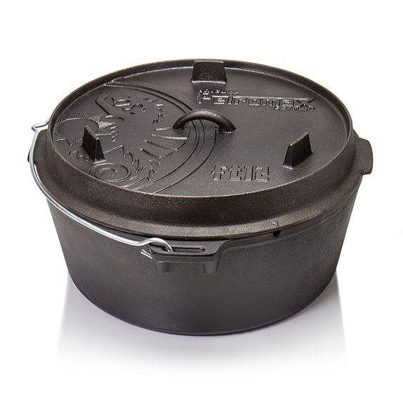 Cool Petromax Feuertopf Dutch Oven ohne Beine planer Boden online bestellen und g nstig kaufen Mit diesem vielseitigen Dutch Oven haben Sie einen Topf
