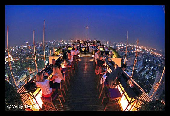 Moon Bar at Banyan Tree, Bangkok
