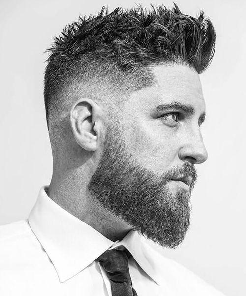 cabelo arrepiado masculino