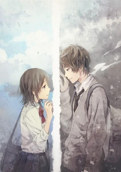 Gallery For gt Anime Couple Break Up