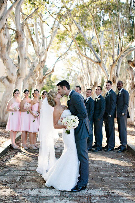 Elegant And Classic Pink Wedding In San Francisco