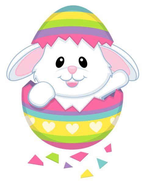 Cute easter bunny transparent png clipart imágenes