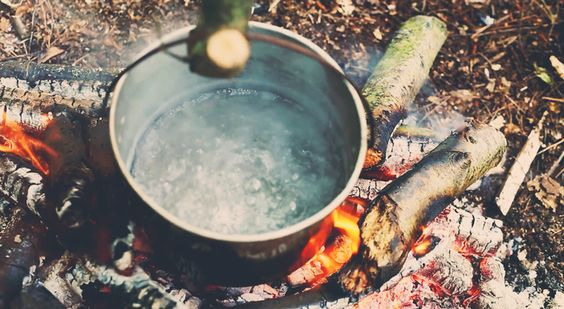 Tea is essential in the outdoors. So then is being able to make fire