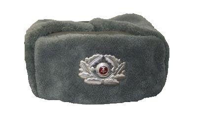 NVA Offiziersmütze mit Kokarde, gebraucht / mehr Infos auf: www.Guntia-Militaria-Shop.de