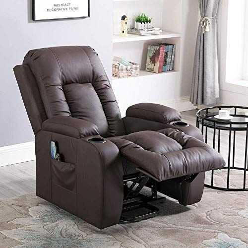 New Massage Recliner Chair Electric Power Lift Chair Elderly