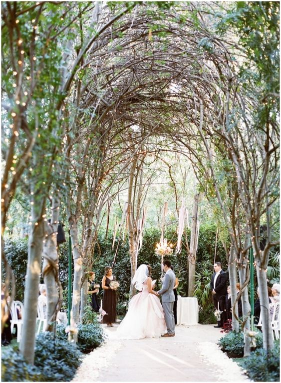 Enchanting Garden Wedding With Twinkle Lights And A Floral Chandelier |  Valentina Glidden Photography | Garden Wedding | Pinterest | Floral  Chandelier, ...