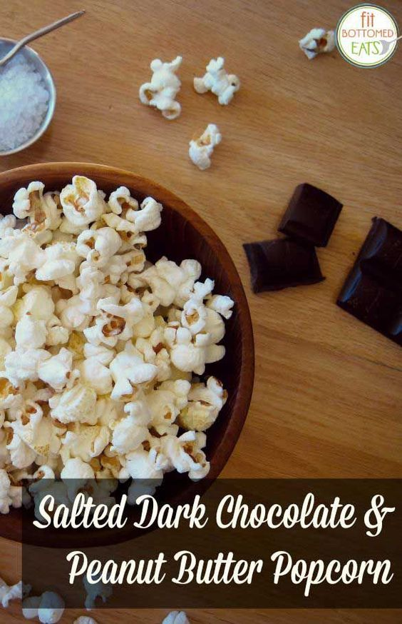 Salted Dark Chocolate & Peanut Butter Popcorn | Recipe | Popcorn ...