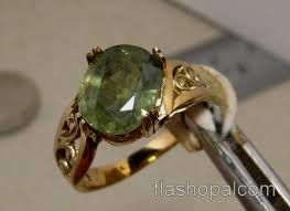 green sapphire rings - Google Search