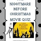 CHRISTMAS IS COMING AND THIS PRODUCT OFFERS THE OPPORTUNITY TO EXPERIENCE A CHRISTMAS MOVIE LESSON IN THE ENGLISH LANGUAGE ARTS CLASS: NIGHTMARE B...