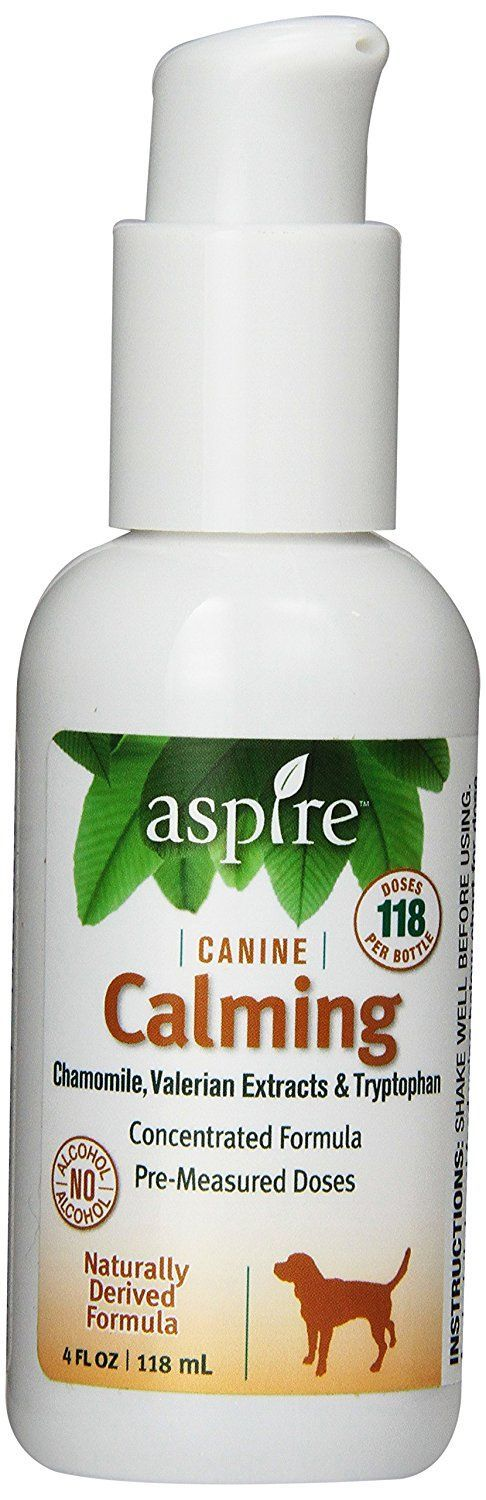 Aspire CL4-C Naturally Derived Canine Calming Formula * See this awesome image  : Dog Health Supplies