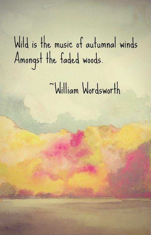 William Wordsworth, quote