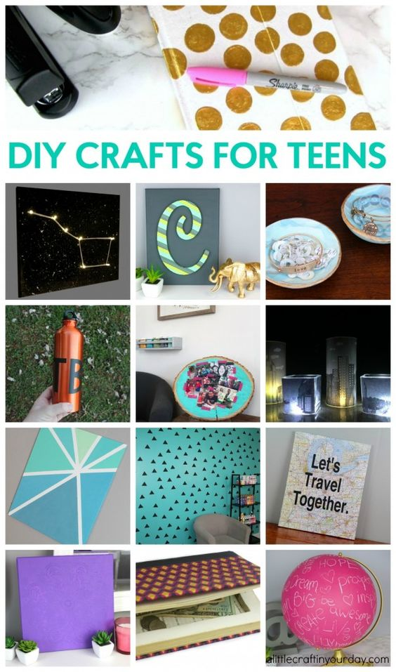 Crafty Homemade Christmas Gifts: I Love, Love Art And Love It