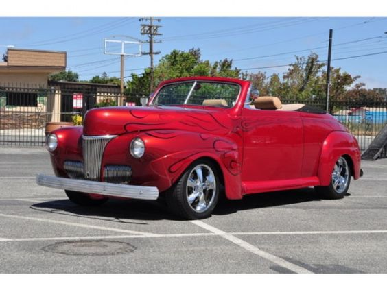 Ford : Other 1941 Ford Deluxe Convertible (Stock # R12011) - http://www.legendaryfind.com/carsforsale/ford-other-1941-ford-deluxe-convertible-stock-r12011/