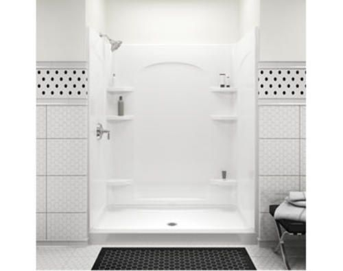 Sterling Ensemble 60 Curve Shower With Place Backers At Menards