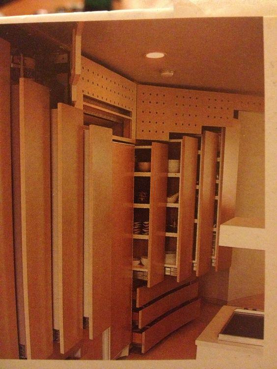 Storage cupboards tiny house