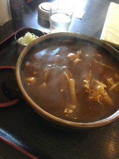 今日のランチは函館市昭和に有るそば陣屋へ久しぶりにカレー南蛮そばですやっぱり函館で食べるカレー南蛮そばは口に合います  tags[北海道]