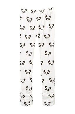 Panda Print Side Cinch Legging (Toddler Girls)