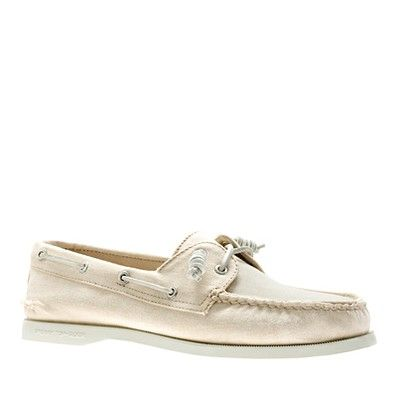 Jcrew Sperry Natural color $98.00