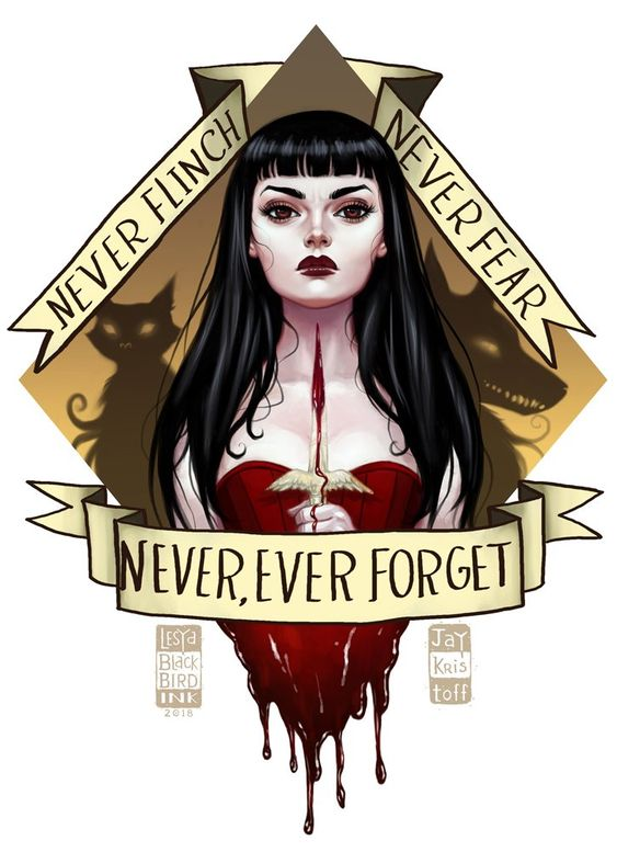 "🖤🌛BlackBirdInk🌜🖤 on Twitter: ""Murder girl is done 💀🗡️ Mia Corver from Nevernight by @misterkristoff #fanart #digitalart #nevernight… """