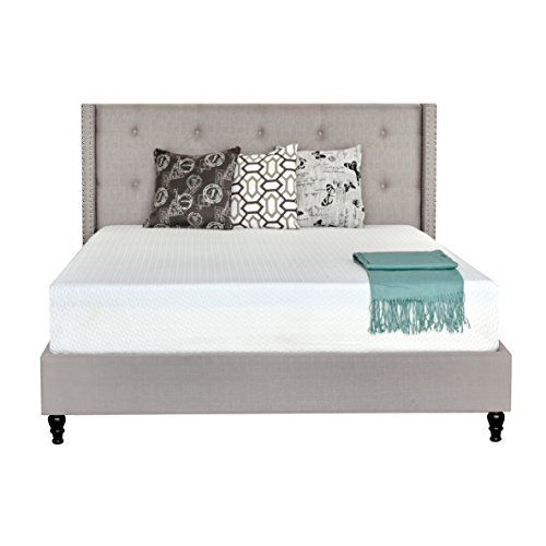 Irvine Home Collection Supreme Temperature Balance 10 Inch California King Size Gel Memory Foam Mattress Mattress Home Collections Bedroom Furniture