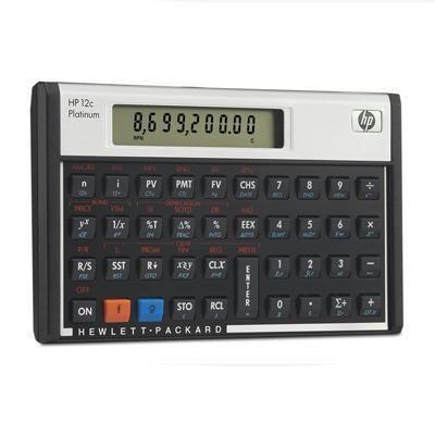 HP Calculators Hp12c Finance Calculator F2231AA#ABA Foxgate