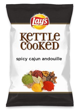 Wouldn't spicy cajun andouille be yummy as a chip? Lay's Do Us A Flavor is back, and the search is on for the yummiest flavor idea. Create a flavor, choose a chip and you could win $1 million! https://www.dousaflavor.com See Rules.