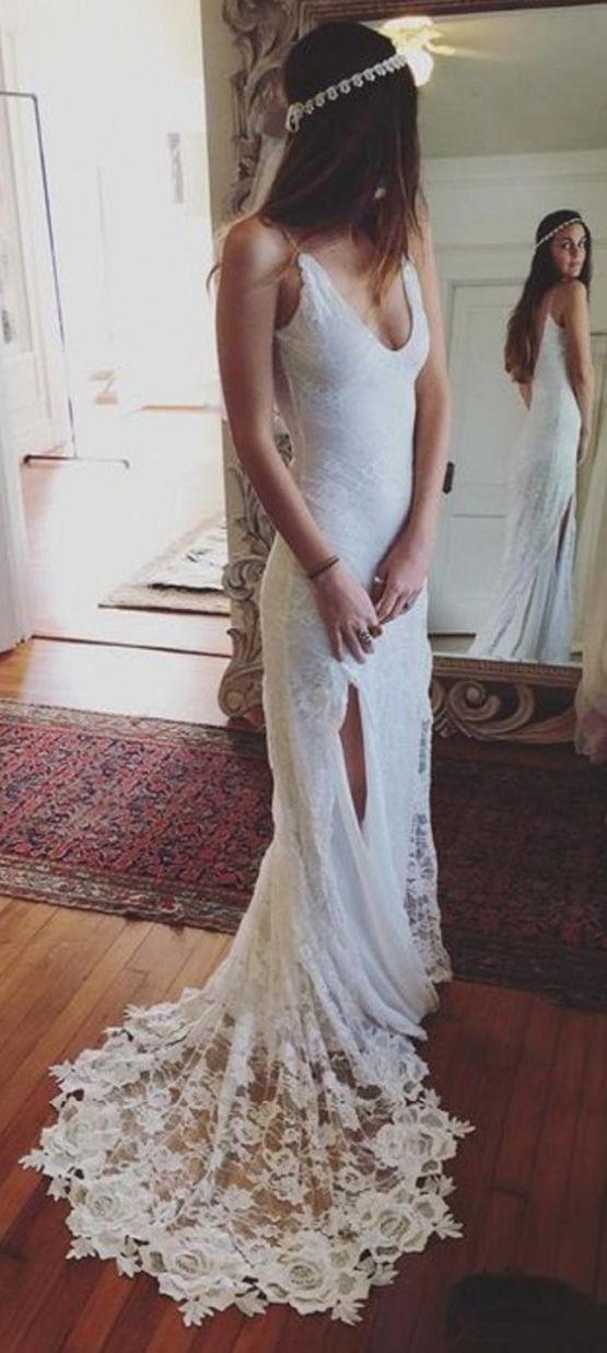 Wedding dresses Train, Sleeveless Wedding Dresses