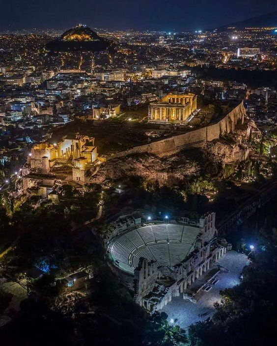 Athens,Greece at night. 🇬🇷