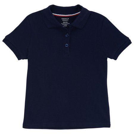 French Toast School Uniform Boys Short Sleeve Interlock Knit Polo Shirt