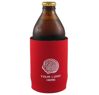 The Stubby Can Cooler ( without base ) has a  large area for your 1 colour printed promotional branding, message or logo customised onto the promotional product in prime viewing position maximising visual advertising potential.
