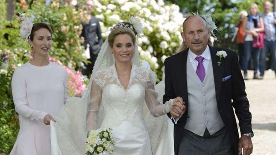 Hochzeit von Erbprinz Alexander von Isenburg und Sarah Lorenz