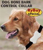 Ryan's Pet Supplies - Dog Bone Bark Control Collar