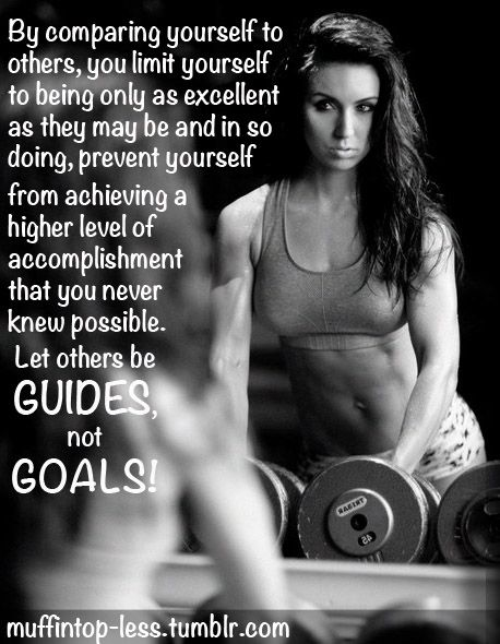 Let others be GUIDES, not GOALS! <3